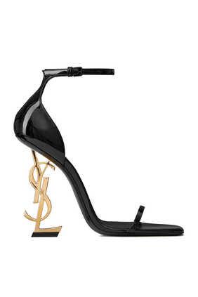 حذاء أوبيوم جلد لامع