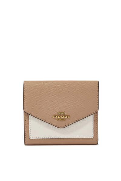 محفظة صغيرة جلد بملمس بارز