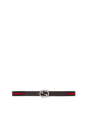 حزام ويب بشعار GG للأطفال