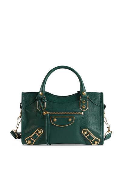 حقيبة سيتي ميني بتصميم لامع