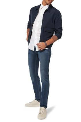 بنطال جينز دينم كروفت بيرش ترانسيند