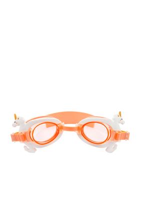 نظارة سباحة بتصميم حصان بحر يونيكورن صغير
