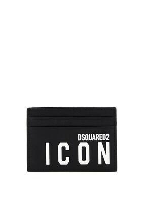 حافظة بطاقات بطبعة كلمة Icon