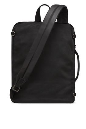 حقيبة ظهر فالنتينو غارافاني نايلون مزينة بشعار V