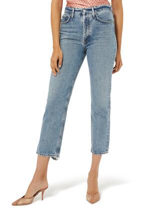 بنطال جينز لانا قصير على الخصر