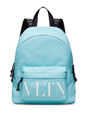 حقيبة ظهر فالنتينو غارافاني بطبعة شعار VLTN