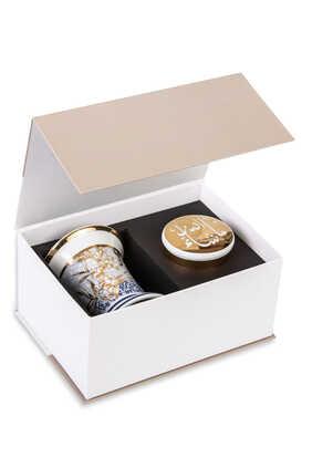 صندوق هدايا مبخرة وعلبة كنوز