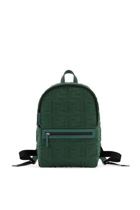 حقيبة ظهر مزينة بشعار FF محفور