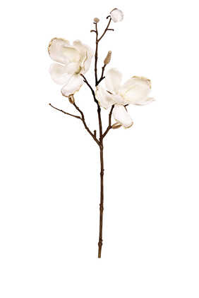 زهور ماغنوليا مخمل صناعية