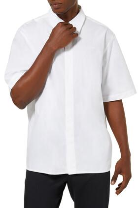 قميص ستوديو بأكمام قصيرة