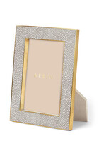 AE Classic Shagreen 4x6 Frame Dove
