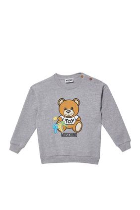 سويت شيرت بطبعة الدب تيدي