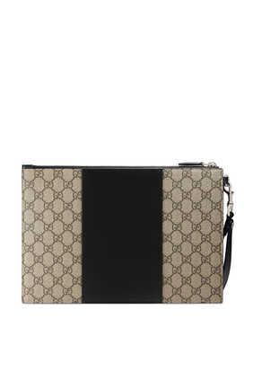 حقيبة صغيرة سوبريم بشعار حرفي GG