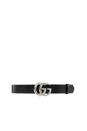 حزام مارمونت عريض بشعار GG