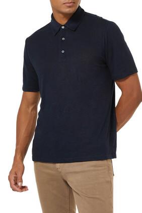 قميص بولو كتان