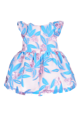 فستان بجزء علوي كشكش