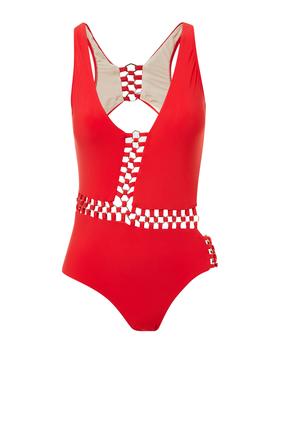 لباس سباحة فانيسا بتصميم خماسي