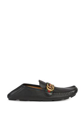 حذاء درايفر بشريط ويب