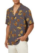 قميص فينشي بنقشة زهور