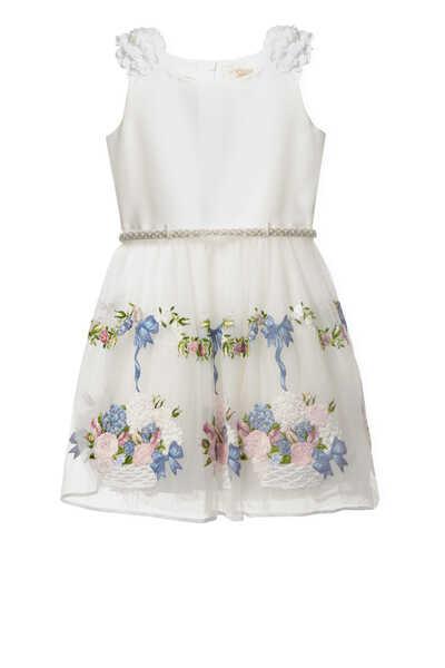 فستان بنقشة زهور