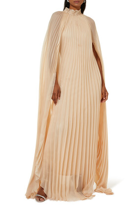 فستان ليلي حرير