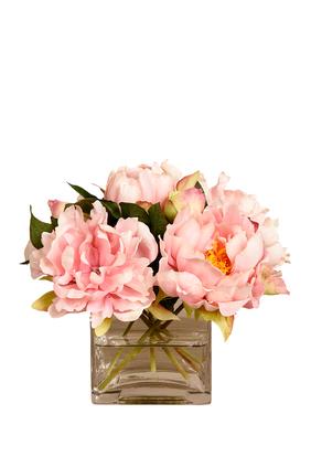 باقة زهور فاوانيا صغيرة