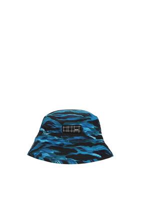 JB HAT WAVES PRINT:Blue:1-4Y